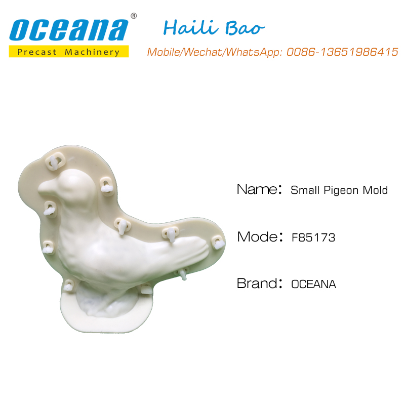 ABS Raw material Plastic Mould pigeon Design for <strong>Injection</strong>