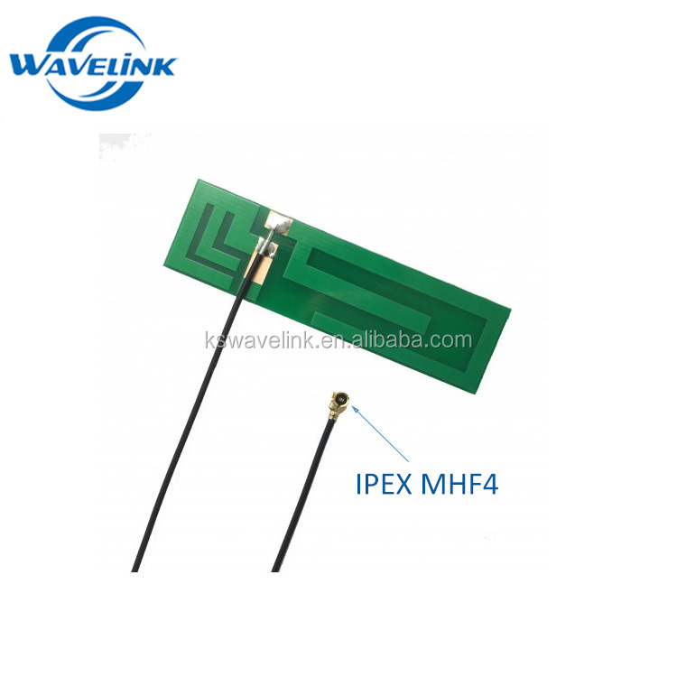 GPRS GSM 3G flexible PCB Directional Antenna with 100mm Ipex