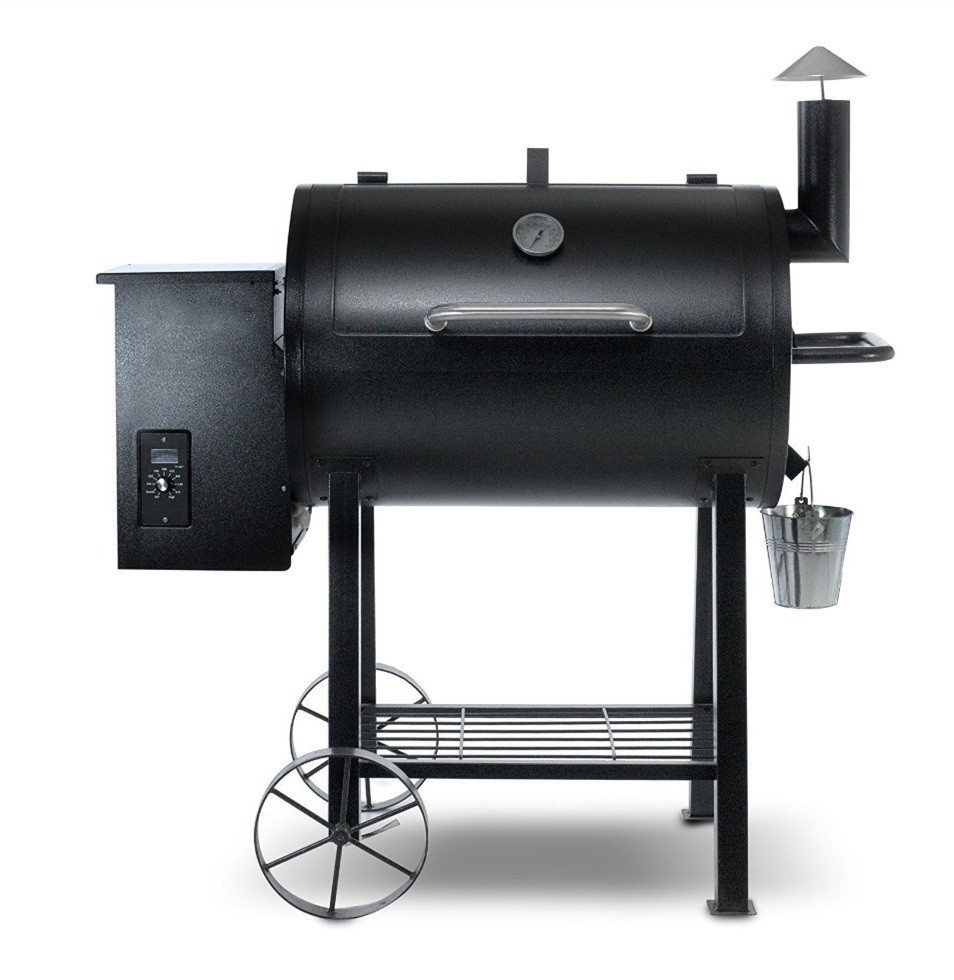 barrel wood pellet charcoal smoker bbq barbecue grills with