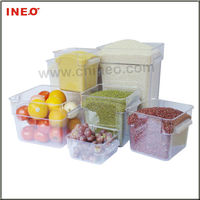 PC Material Square Food Storage Container,Box Or Bin