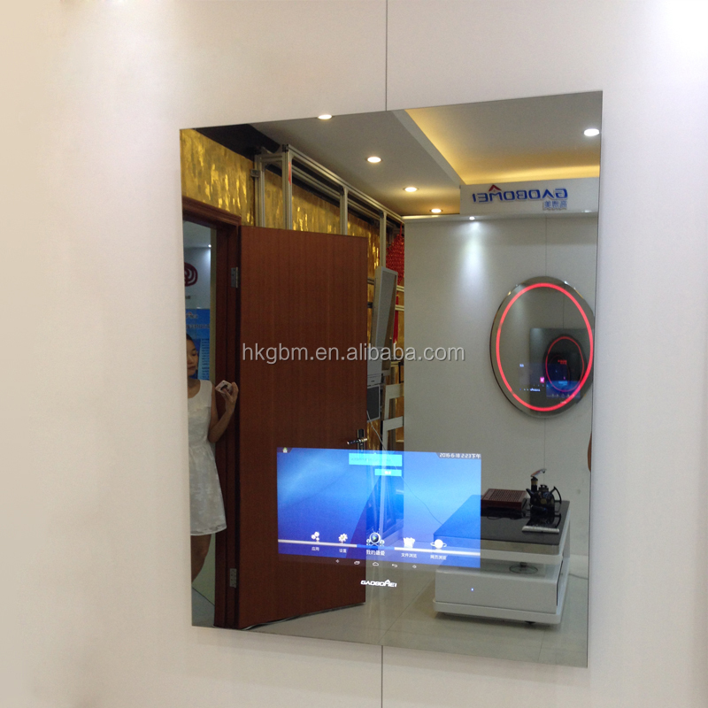 Panneau publicitaire fluorescent led affichage avec miroir for Miroir indonesia