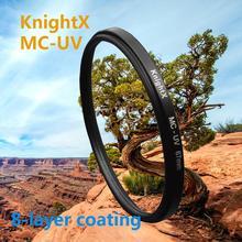 MC UV 49 77 MM Filter for Nikon D5200 D5100 D3200 D3100 D3300 18 55mm for