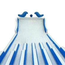 Professional factory supply customized commercial giant inflatable water slide