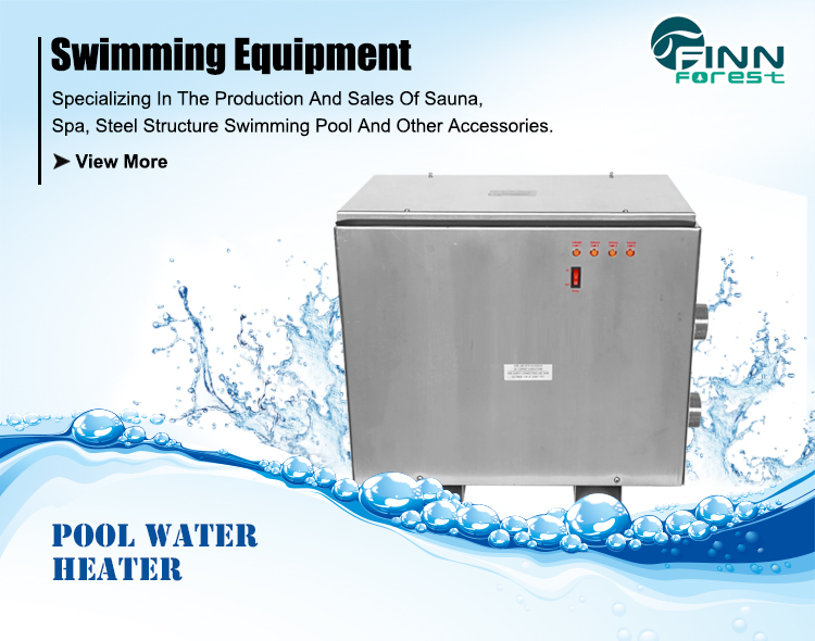 11KW 380-450V 50-60HZ  Stainless Steel Diy Swimming Pool Heater With CE Certification