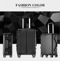 small metal luggage cases industrial aluminum suitcase with universal wheel