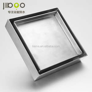 Square Ceramic Tile Insert Drain