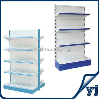 Diffe Types Of Steel Supermarket Display Shelf Gondola End Racks Metal Wall Island Shelves For