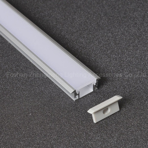 27-11led tiles ground aluminum profile floor/Step/stairs lighting,IP 65 in-Ground Floor LED recessed Profile with thick PC cover