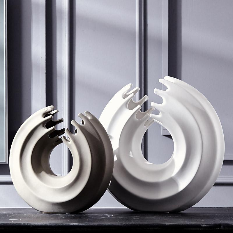 jingdezhen fbrica promover jarrones de cermica moderna decoracin