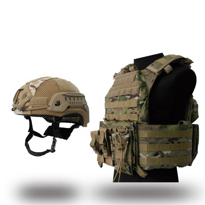 Camouflage kogelvrij vest/Molle tactische vest/Niveau 3a body armor