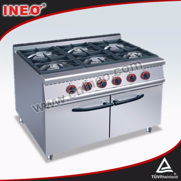 Commercial Restaurant Equipment gas stove burner grates/gas stove with grill in india