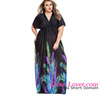 Most poplar big girl sexy fashion clothing dress plus size