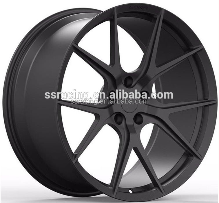 Factory price 19' matt black alloy forged wheel to fit NSX