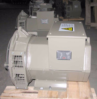 Double bearing 40kva 50kva 85kva 100kva 125kva 200kva 250kva brushless alternator