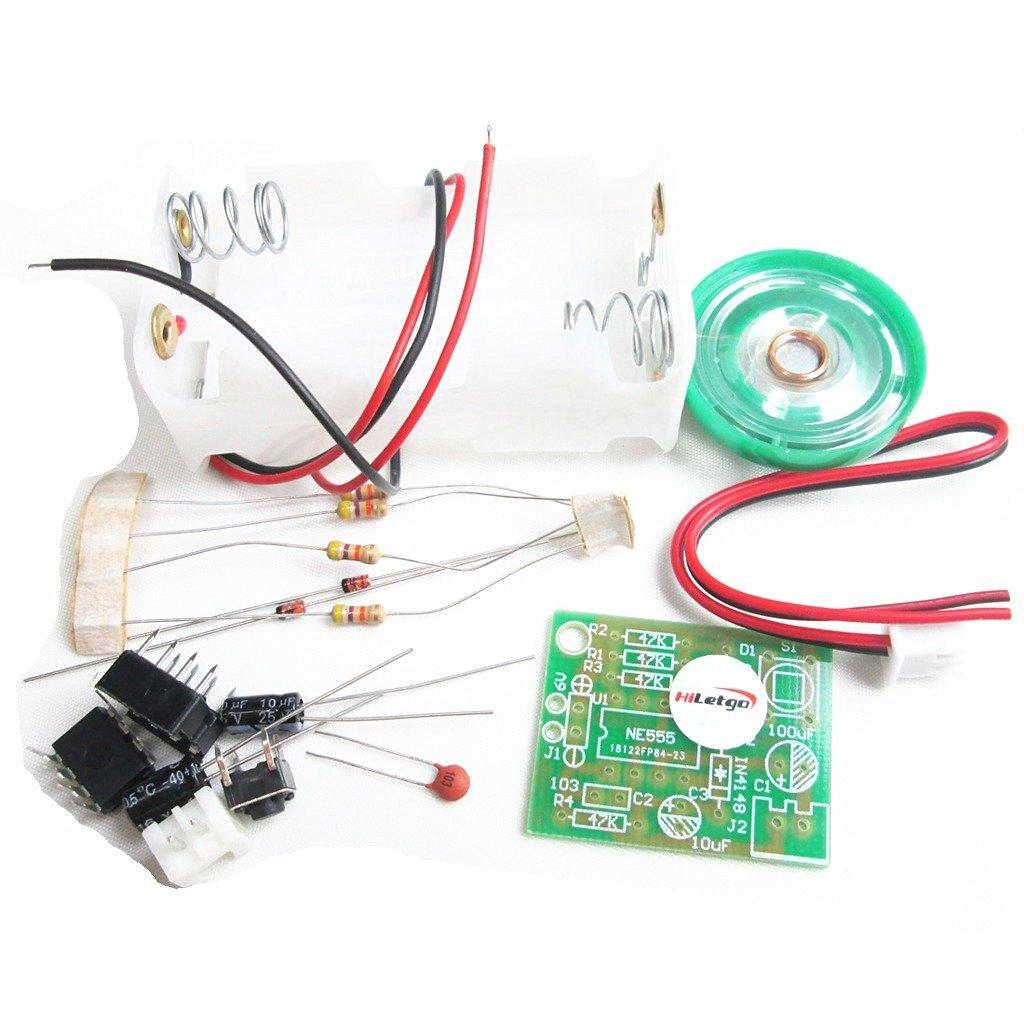 HiLetgo Electronic DIY Production Suite Doorbell DIY Kit Make a Doorbell