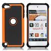 silicone+PC Hybrid Combo Case for ipod touch 5 itouch 5