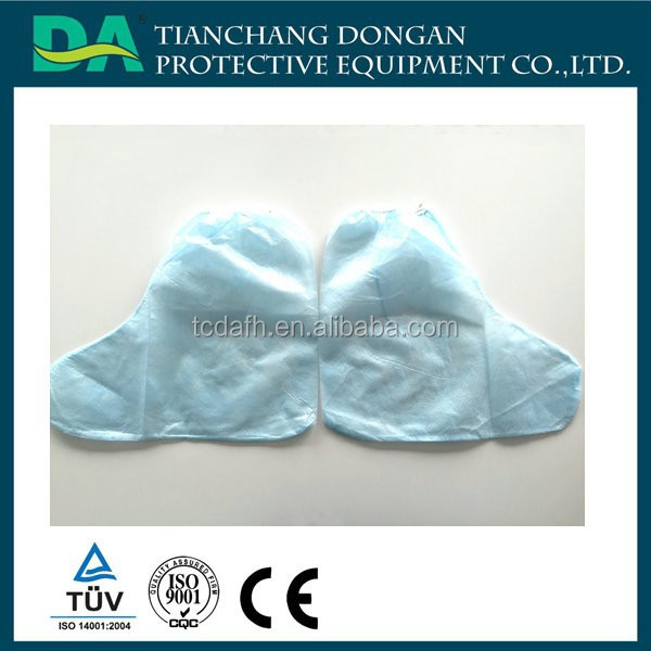 disposable plastic long boot PP medical shoe covers