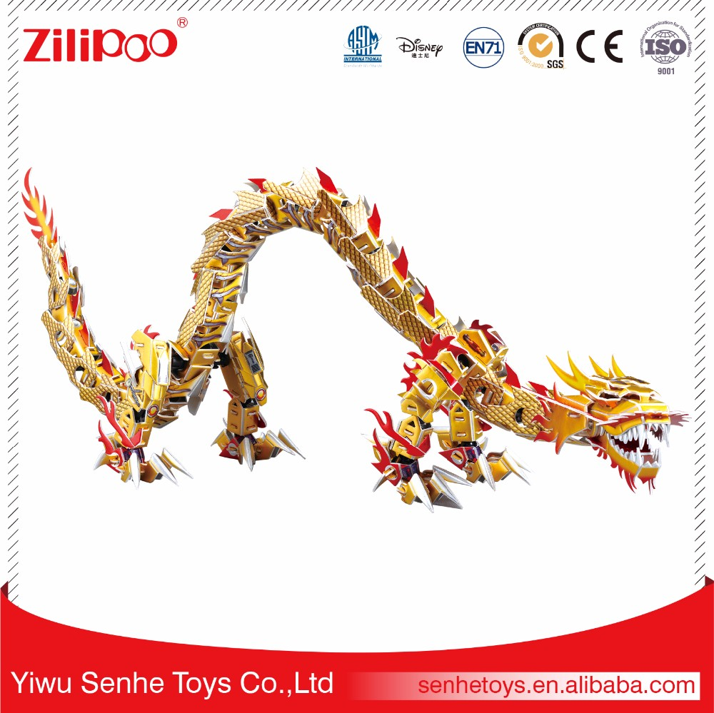 YWSH ISO Certificate Mini Toy, Adult Chinese Dragon Animal Magnetic Puzzle Games,Birthday Gifts for Best Friend