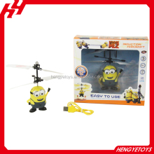 New Product Plastic Induction Control Minions Flying Fairy RC minions