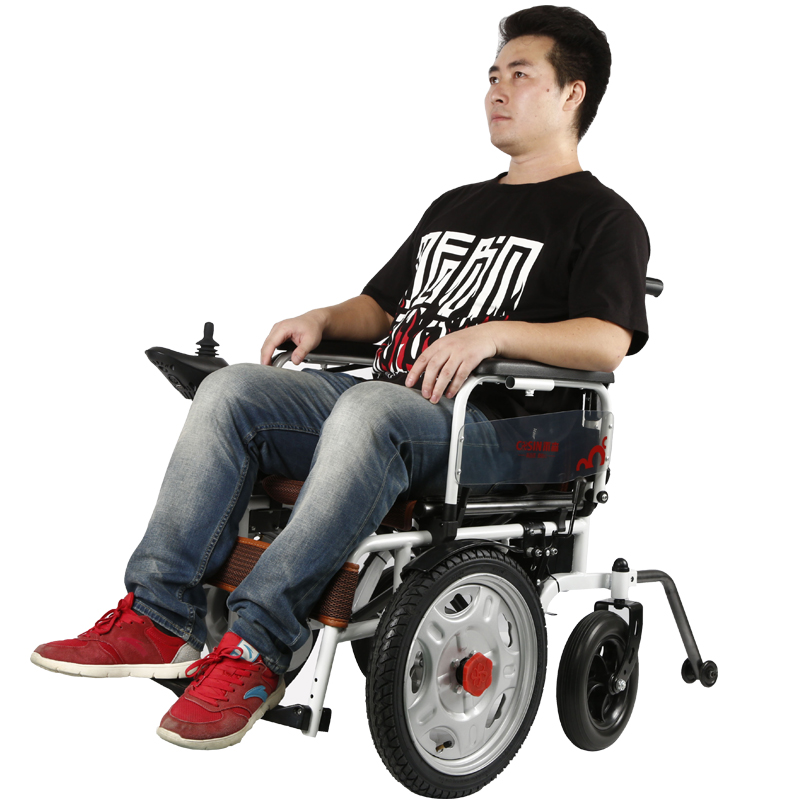 6km/h Max Safety Driving Cheapest Self Balancing Pediatric Wheelchair for Disabled