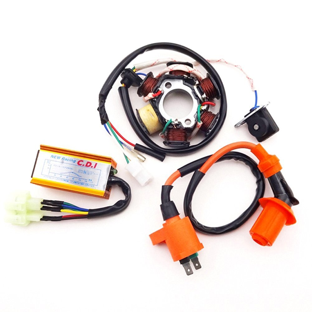 Buy Tc Motor Ignition Cdi Box 7 Wires For Chinese 250cc Engine Quad Wiring Racing Coil Magneto Stator 6 Pins Ac
