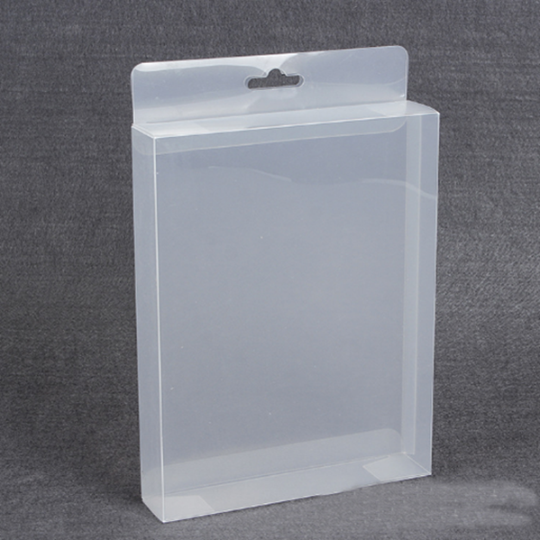 Custom disposable blister lowest price small folding transparent pvc pet plastic gift packaging box