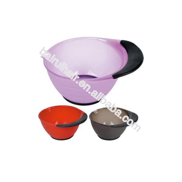 Chemical Proof PP Material Plastic Hair Color Mixing Bowl DEEP Tint Bowl With Measuring Lines