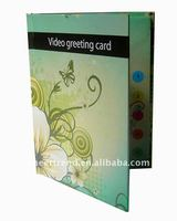 High quality Video greeting card for promotional gifts
