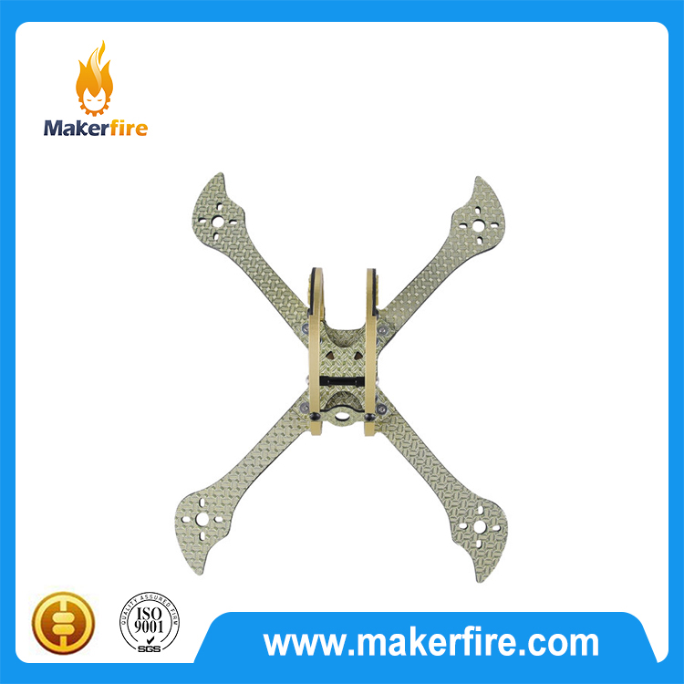 3K 4mm Carbon Fiber X220 racing drone frame for QAV210 220