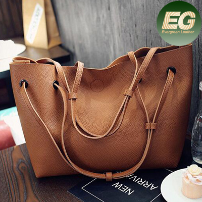 2017 Latest ladies Tote handbag high quality Soft leather shoulder bag with purse inside SY7887