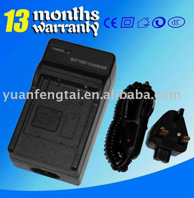 For Nikon EN-EL10 ENEL10 Camera camcorder battery charger