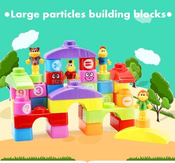 kunststoff bausteine f r kinder buy kinder plastikbausteine bausteine product on. Black Bedroom Furniture Sets. Home Design Ideas