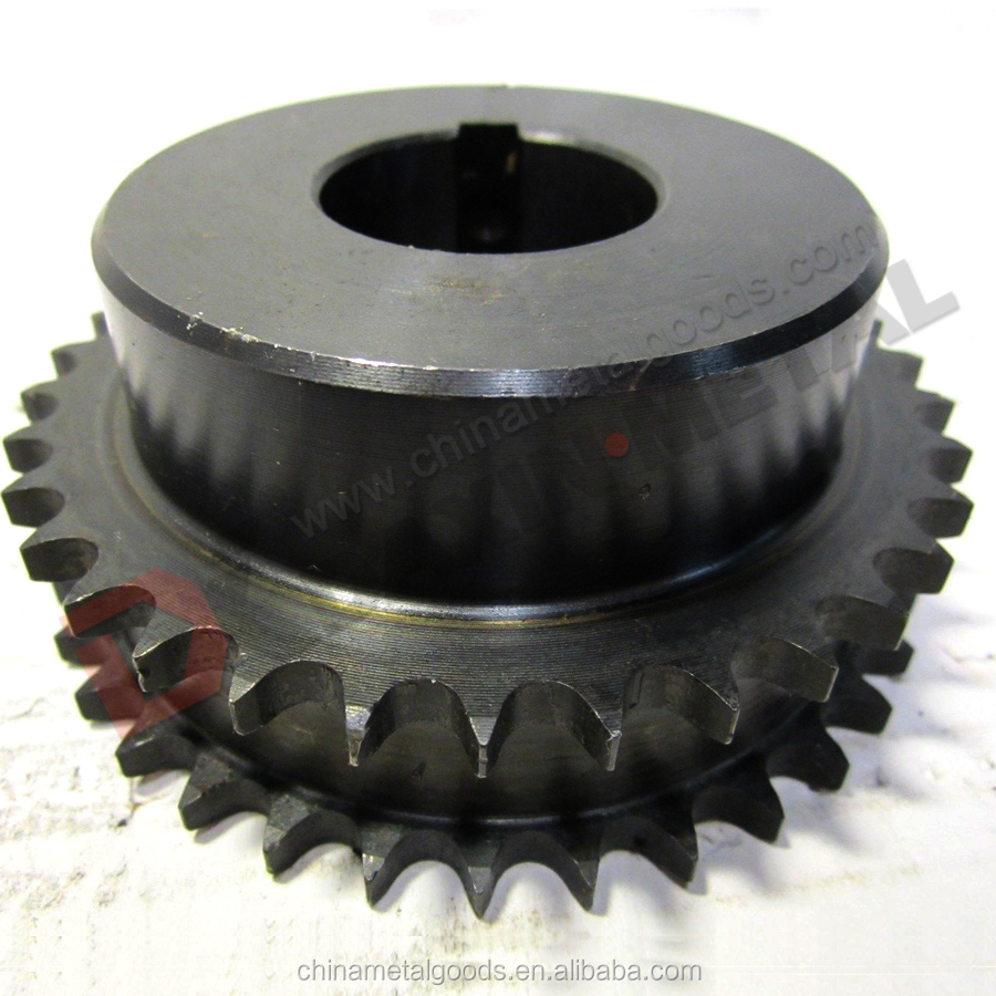 OEM Specification Non Standard With Hub Double Roller Chain Sprockets