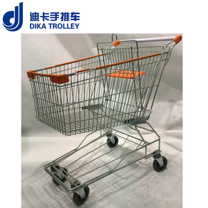 Retail shopping trolley smart cart