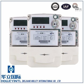 Electricity Preset Function Turn Off Electric Meter