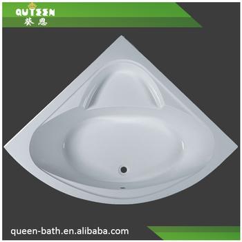 Jr b030 anti slip acrylic bathtub two wall corner triangular bathtub compact shower tub buy - Triangular bathtub ...