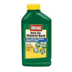 Scotts Ortho Roundup Ortho 0432561 Concentrate Max Poison Ivy/Tough Brush Killer, 16-Ounce
