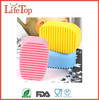 2016 New Arrival Silicone Hand-Held Silicone Clothes Washing Brush