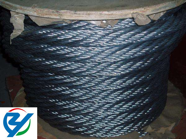 6*15+7FC steel wire rope for floating trandsportation