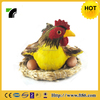 New Design Universal realistic garden decration toy chicken lays eggs