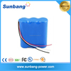 portable rechargeable 9v lithium battery 1200mah