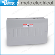 Zhejiang Meto Electrical 120/240V MTS Series 0.8-1.2mm thickness reliable distribution board 8 way load center