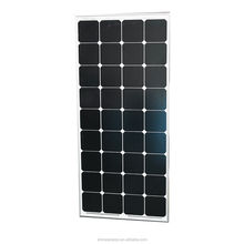 High efficiency mono flexible solar panel 130w