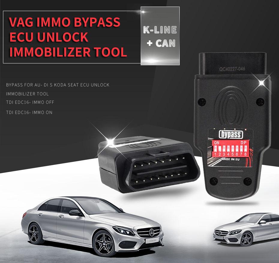 Best Quality Immo Bypass Immobiliser Simulator Bypass For Audi Seat Skoda  Ecu Unlock Immobilizer Tool - Buy Immo Bypass,Car Immobilizer Bypass