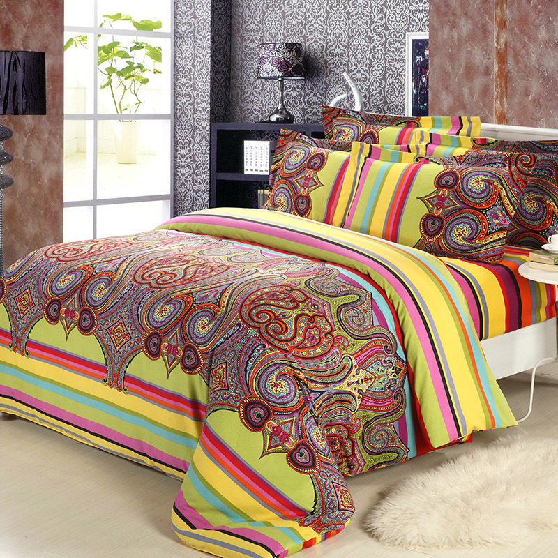 innovative new bohemian bedroom furniture | Popular Bohemian Comforter Set-Buy Cheap Bohemian ...