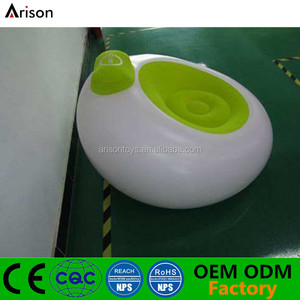 New design inflatable round arm sofa chair