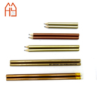 Silver Gold metallic HB pencil professional writing pencil for school