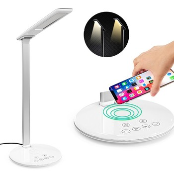 Table Office Dimmer Led 48 Charging Foldable Touch Charger Lamps Qi Desk Wireless Lamp Buy Reading Rechargeable Nm8w0vn