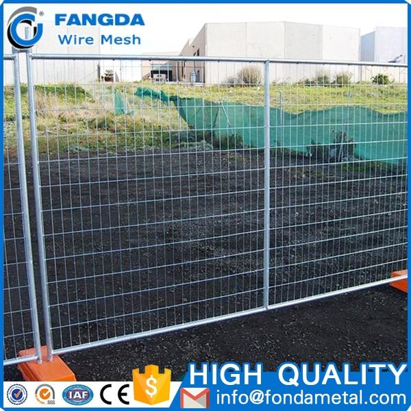 used temporary fence,welded mesh temporary fence panels,2.1x2.4m hot dipped galvanized temporary security fence panels
