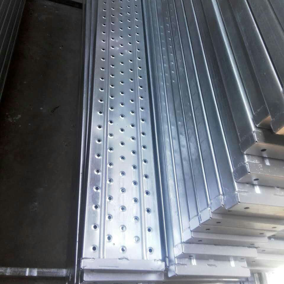 High Quality Punched Walk Board / Scaffolding Steel Plank / Metal Deck For Construction Building